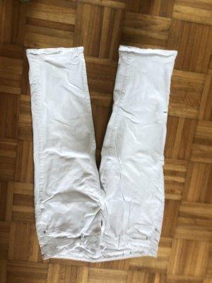Esprit Jeans a 3/4 bianco Cotone