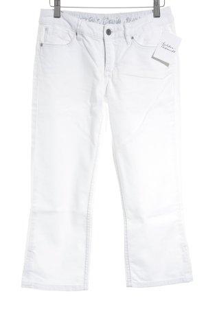 Esprit Jeansy 3/4 biały Jeansowy wygląd