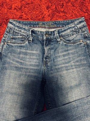 Edc Esprit Jeans vita bassa grigio ardesia