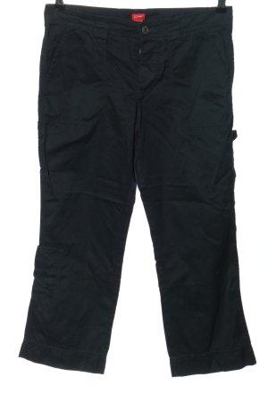 Esprit Spodnie 7/8 czarny W stylu casual