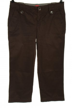 Esprit Spodnie 7/8 brązowy W stylu casual