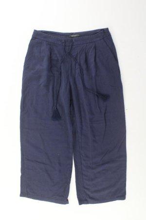 Esprit 7/8 Hose Größe 38 blau aus Viskose