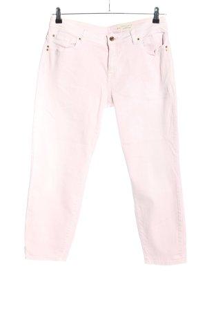 Esprit Jeansy 7/8 różowy W stylu casual