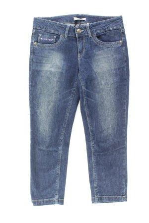 Esprit 7/8 Jeans Größe M mit Pailletten blau aus Baumwolle