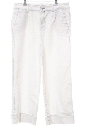 Esprit Jeansy 7/8 biały W stylu casual