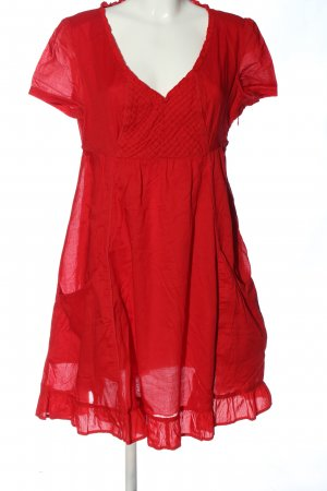 Esprit A Line Dress red casual look