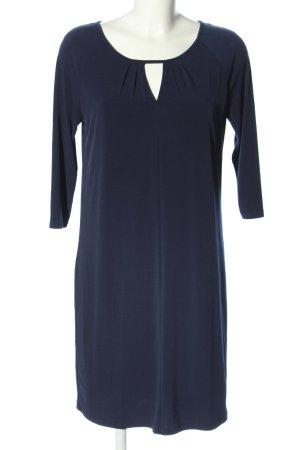 Esprit Langarmkleid blau Business-Look