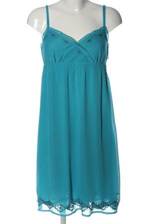 Esprit A-Linien Kleid türkis Elegant