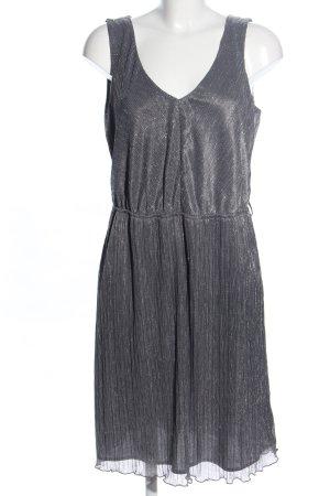 Esprit A-Linien Kleid hellgrau meliert Casual-Look