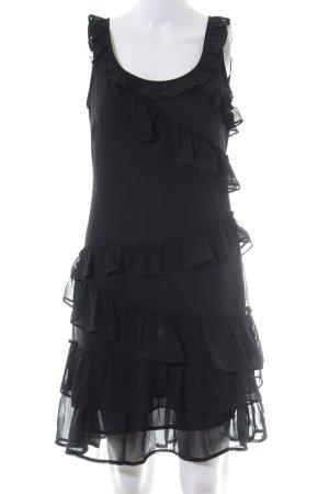 Esprit A-Linien Kleid schwarz Casual-Look