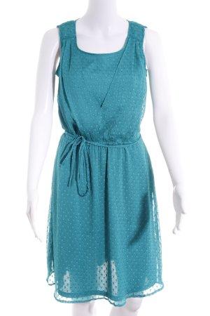 Esprit A-Linien Kleid türkis Casual-Look