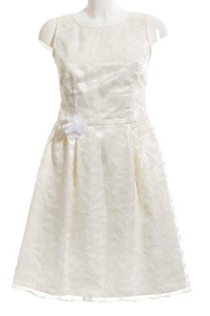 Esprit A-Linien Kleid wollweiß Elegant