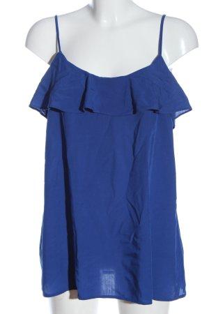 Esprit Top o kroju litery A niebieski W stylu casual