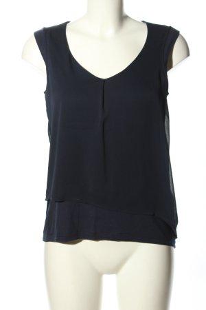 Esprit A-Linien Top blau Casual-Look