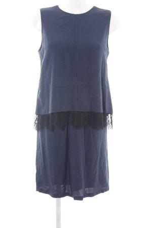 Esprit Abendkleid blau-schwarz Business-Look