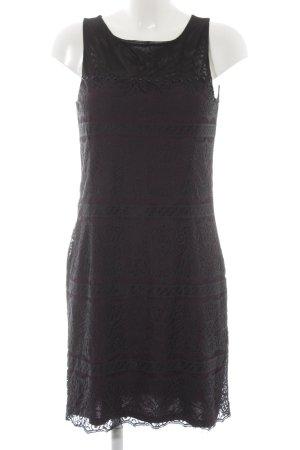 Esprit Abendkleid brombeerrot-schwarz Elegant