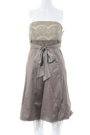 Esprit Abendkleid graubraun-beige Elegant