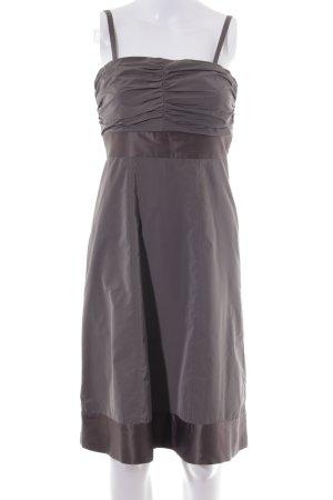 Esprit Abendkleid graubraun klassischer Stil
