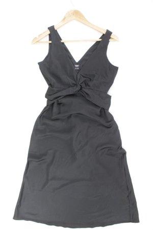 Esprit Abendkleid Größe 36 mit Gürtel Träger schwarz aus Polyester