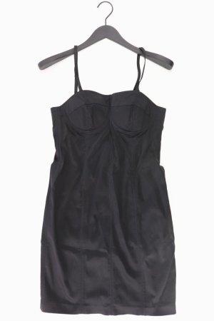 Esprit Abendkleid Größe 38 Träger schwarz aus Acetat