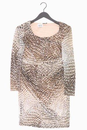 Esprit Abendkleid Größe M Langarm braun aus Polyester