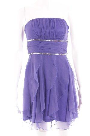 Esprit Abendkleid lila-silberfarben Elegant