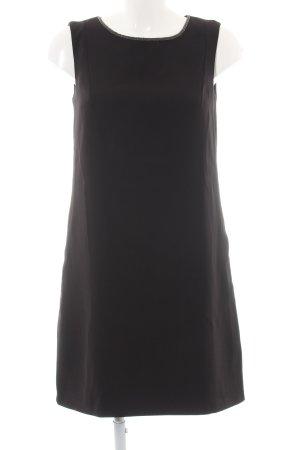 Esprit Abendkleid schwarz Metallelemente