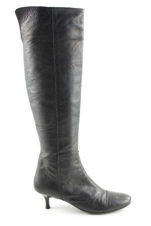 Esprit Absatz Stiefel schwarz Casual-Look