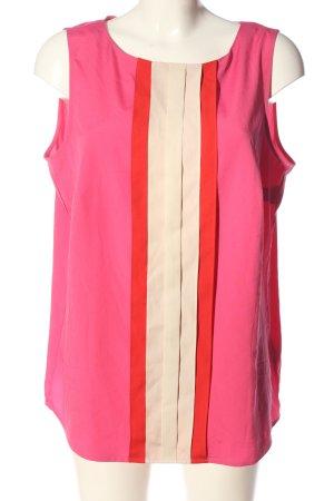 Esprit ärmellose Bluse mehrfarbig Casual-Look
