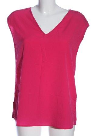 Esprit ärmellose Bluse pink Casual-Look