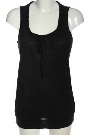 Esprit Basic topje zwart casual uitstraling