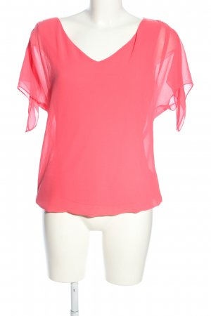 Esprit ärmellose Bluse pink Business-Look