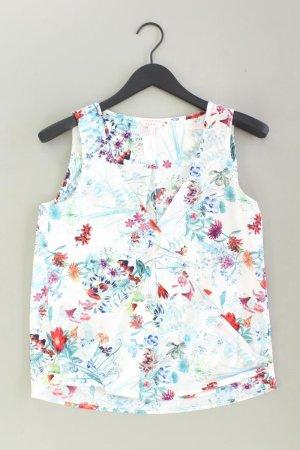 Esprit Ärmellose Bluse Größe 38 mit Blumenmuster mehrfarbig aus Polyester