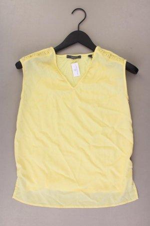 Esprit Ärmellose Bluse Größe S gelb