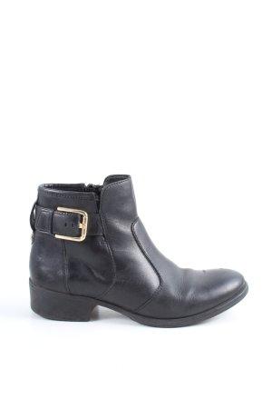 Esprit Ankle Boots schwarz Motivdruck Casual-Look