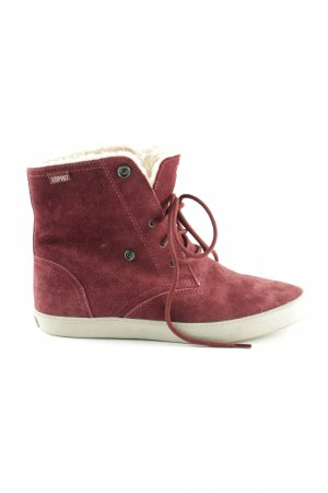 Esprit Ankle Boots rot Casual-Look