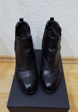 ESPRIT Ankle Boots schwarz Business-Look Damen Gr. DE 39 Damenschuhe