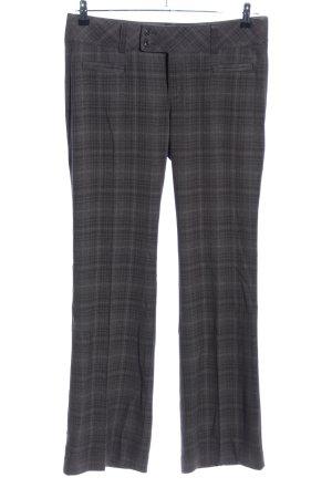 Esprit Pantalón de vestir gris claro estampado a cuadros look casual