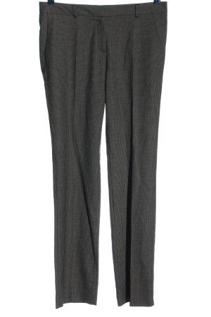 Esprit Pantalone da abito nero-grigio chiaro motivo a quadri stile professionale