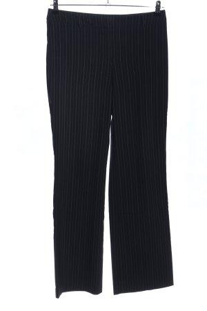 Esprit Anzughose schwarz-weiß Allover-Druck Business-Look