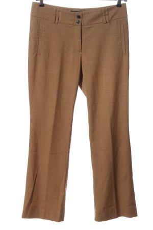 Esprit Pantalon bruin gestippeld casual uitstraling
