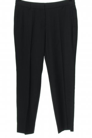 Esprit Anzughose schwarz-blau Allover-Druck Casual-Look