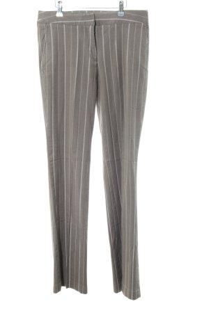 Esprit Pantalón de vestir gris claro-blanco estilo «business»