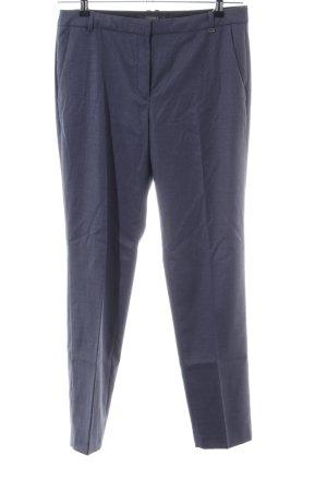 Esprit Anzughose blau Webmuster Business-Look