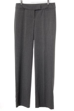 Esprit Anzughose dunkelgrau Streifenmuster Business-Look
