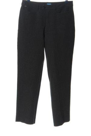 Esprit Spodnie garniturowe czarny Melanżowy W stylu biznesowym