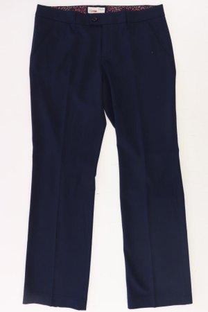 Esprit Pantalón de vestir azul-azul neón-azul oscuro-azul celeste Poliéster