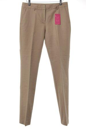 Esprit Spodnie garniturowe jasnobeżowy Siateczkowy wzór W stylu casual