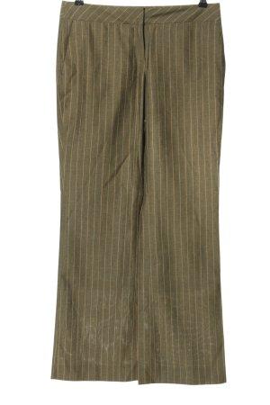Esprit Anzughose khaki Streifenmuster Business-Look