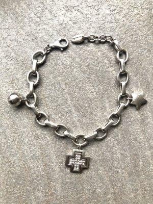 Esprit Bracelet à breloques argenté